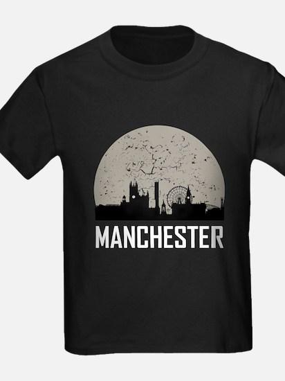 Manchester Full Moon Skyline T-Shirt