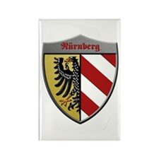 Nuremberg Germany Metallic Shield Magnets