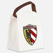 Nuremberg Germany Metallic Shield Canvas Lunch Bag