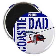Love my Coastie - Proud Dad - Helo Magnet