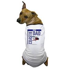 Love my Coastie - Proud Dad - Helo Dog T-Shirt