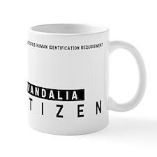 Vandalia Citizen Barcode, Mug