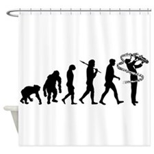 Saxophone Player Shower Curtain