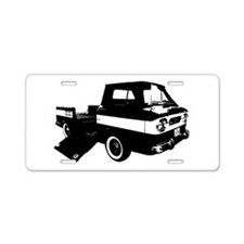 Corvair Rampside Aluminum License Plate