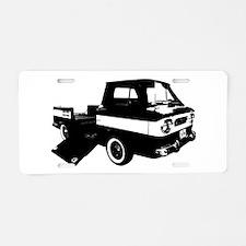 Corvair Rampside Aluminum License Plate