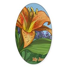 Tiger Lily Journal Decal