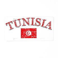 Tunisian soccer designs Aluminum License Plate
