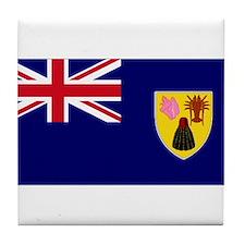 TIC national flag Tile Coaster
