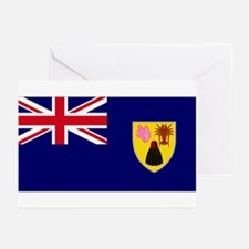 TIC national flag Greeting Cards (Pk of 10)