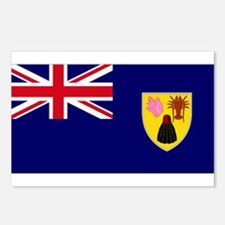 TIC national flag Postcards (Package of 8)