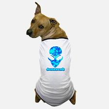 Blue Marble Alien w/Logo Dog T-Shirt