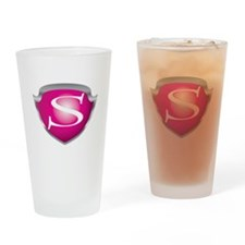Cute Empowered Drinking Glass