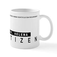 St. Helena Citizen Barcode, Mug