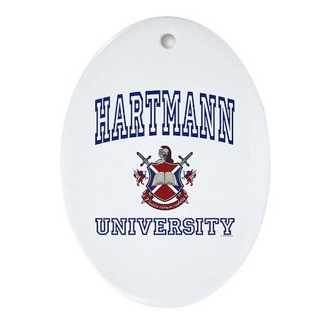 HARTMANN University Oval Ornament