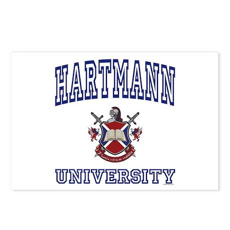 HARTMANN University Postcards (Package of 8)