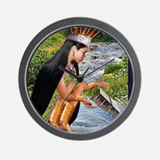 RIVER TRANSFERENCE Wall Clock