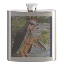 RIVER TRANSFERENCE Flask
