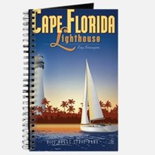 Cape Florida Travel Poster Mini Journal