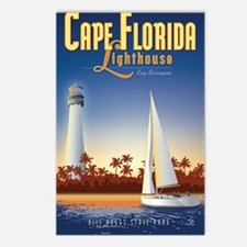 Cape Florida Travel Poste Postcards (Package of 8)