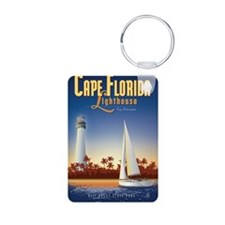 Cape Florida Travel Poster Keychains