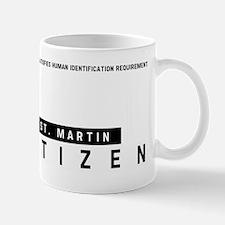 St. Martin Citizen Barcode, Mug