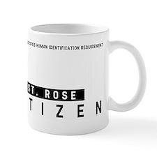 St. Rose Citizen Barcode, Mug