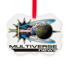 Multiverse news Logo highlighted Ornament
