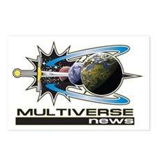Multiverse news Logo high Postcards (Package of 8)