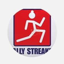 Rally Streaker Round Ornament