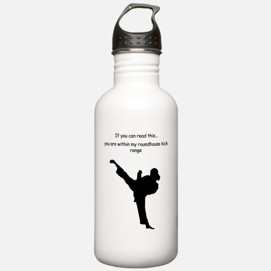 roundhouse kick Water Bottle