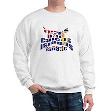 US Virgin Islands flag fan Sweatshirt