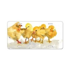 Baby Chicks Aluminum License Plate