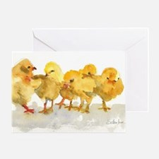 Baby Chicks Greeting Card