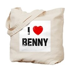 I * Benny Tote Bag