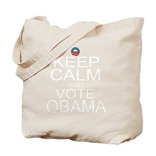 KC-obama-w Tote Bag
