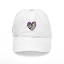 Love Is A ROse I Baseball Cap