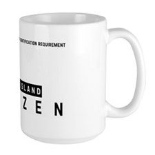 Stock Island Citizen Barcode, Mug