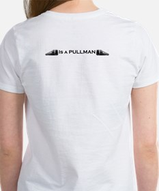 Train Women's T-Shirt - My other car is a pullman