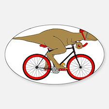 Velodrome Raptor Sticker (Oval)