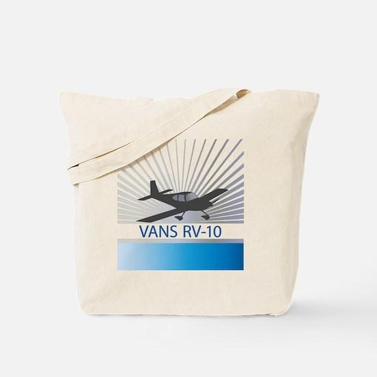 Aircraft Vans RV-10 Tote Bag