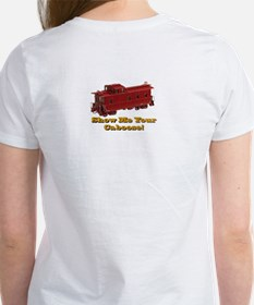 Women's T-Shirt - Do Not Hump-Show me your Caboose