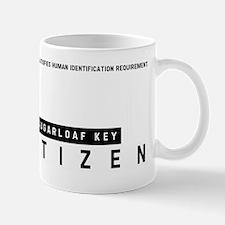 Sugarloaf Key Citizen Barcode, Mug