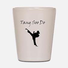 Tang Soo Do Girl Shot Glass