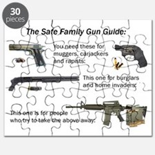 Safe Family Gun Guide Puzzle