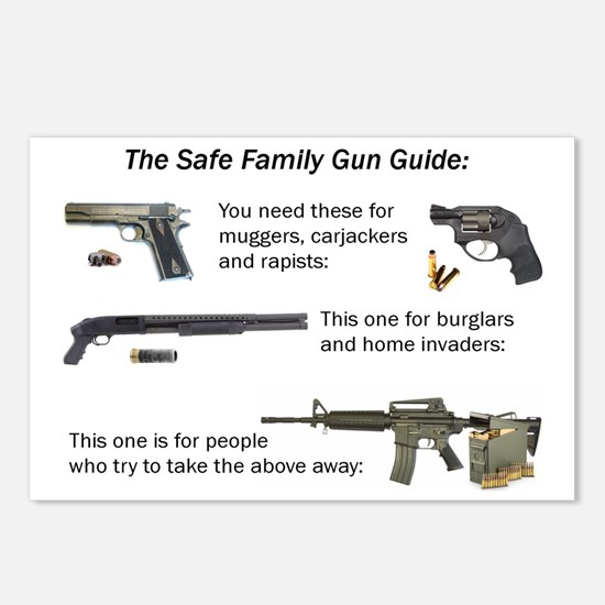 Safe Family Gun Guide Postcards (Package of 8)