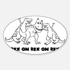 Rex on Rex on Rex Decal