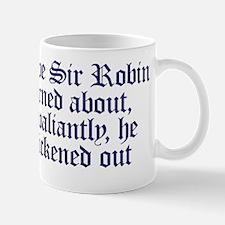 Brave Sir Robin Mug