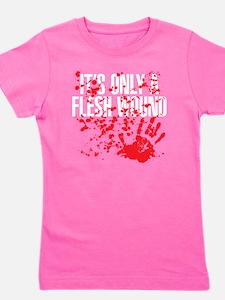 flesh wound Girl's Tee