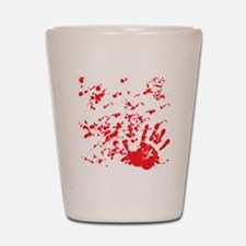 flesh wound Shot Glass