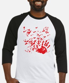 flesh wound Baseball Jersey